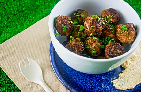 pork and lamb meatballs