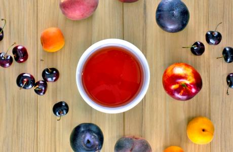 Stone Fruit Simple Syrup